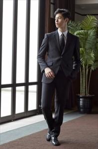 男性用法事スーツ